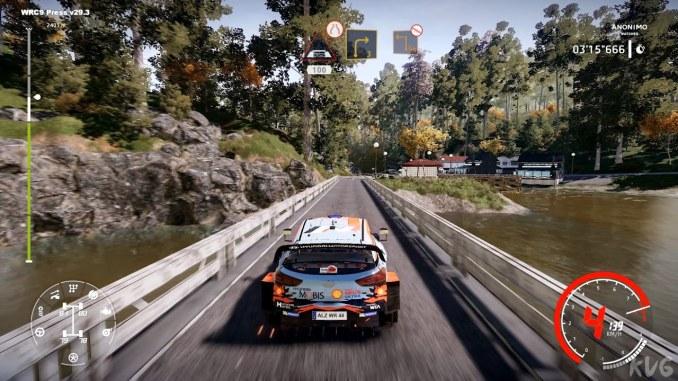 """Das Bild zeigt eine Szene aus dem Spiel """"WRC 9""""."""