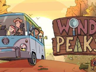 """Das Bild zeigt das Logo von """"Wind Peaks""""."""
