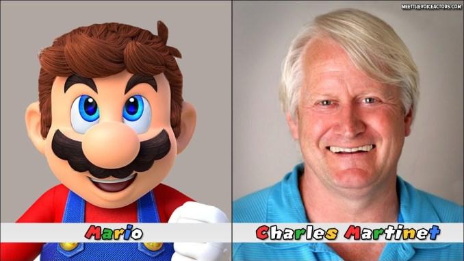 Charles Martinet ist seit 30 Jahren der Synchronsprecher von Super Mario