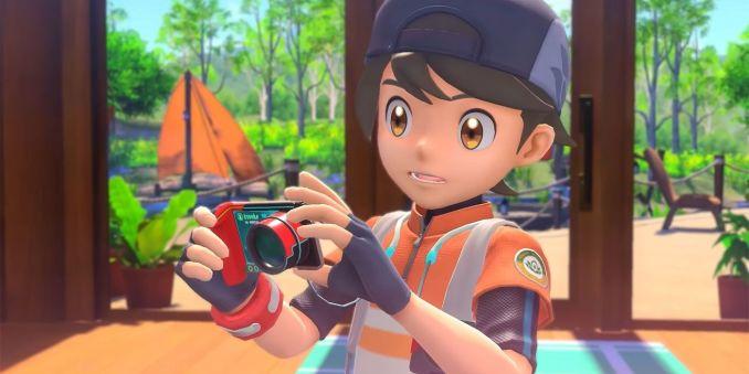 """Das Bild zeigt den Protangisten in """"New Pokémon Snap""""."""