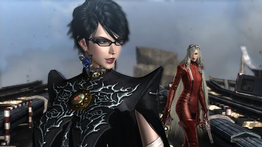 """Das Bild zeigt eine Szene aus PlatinumGames' """"Bayonetta""""."""