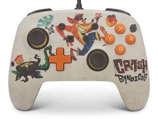 """Das Bild zeigt den brandneuen """"Crash Bandicoot™ 4: It's About Time""""-Corntoller von PowerA."""