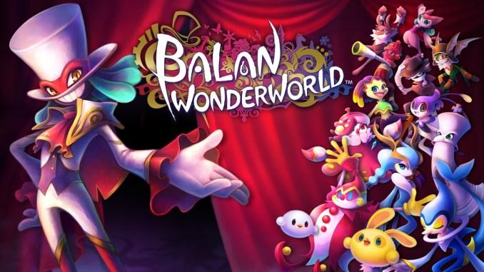 Das Bild zeigt uns das Titelbild aus dem Spiel Balan Wonderworld