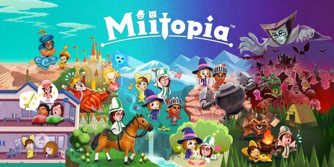 """Das Bild zeigt den neuen Millionen-Seller """"Miitopia""""."""