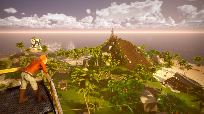 """Das Bild zeigt eine Szene aus dem Spiel """"Hazel Sky""""."""