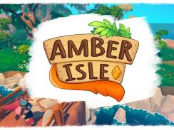 """Das Bild zeigt das Logo von """"Amber Isle""""."""