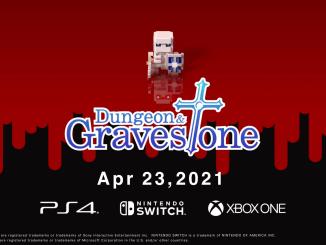 """Das Bild zeigt das Logo von """"Dungeon & Gravestone""""."""