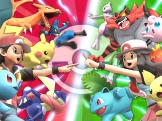 """Das Bild zeigt ein neues Artwork zum Pokèmon-Tunier in """"Super Smash Bros. Ultimate""""."""