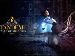 """Das Bild zeigt das Logo von """"Tandem: A Tale of Shadows""""."""