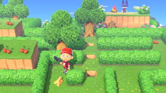 """Das Bild zeigt die Mai-Feierei 2021 in """"Animal Crossing: New Horizons""""."""