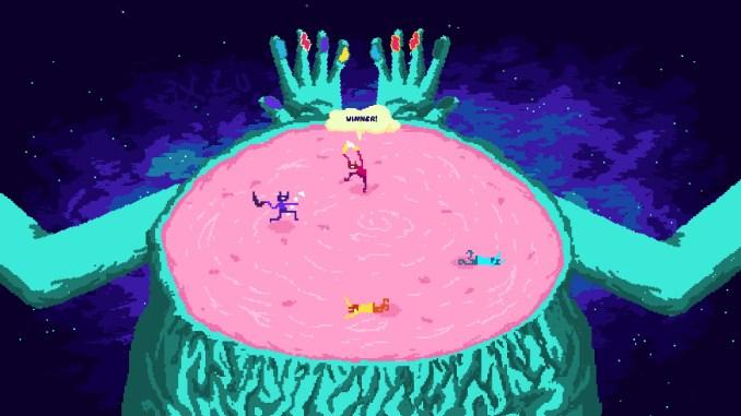 """Das Bild zeigt eine Szene aus dem Spiel """"Bamerang""""."""
