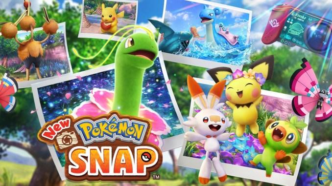 Das Bild zeigt das Titelbild des Spiel New Pokémon Snap