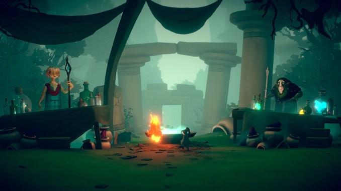 """Das Bild zeigt eine Szene aus dem Spiel """"Lost Words: Beyond the Page""""."""