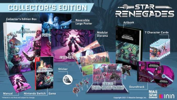 Das Bild zeigt die Star Renegades Sammler Edition.
