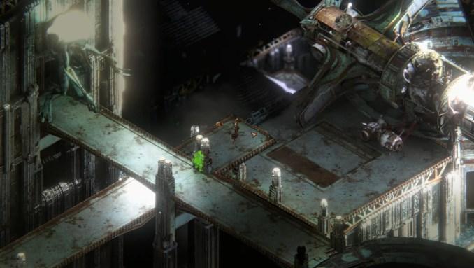 """Das Bild zeigt das dunkle Setting in """"Beautiful Desolation""""."""