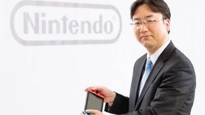 Das Bild zeigt Shuntaro Furukawa, CEO von Nintendo.