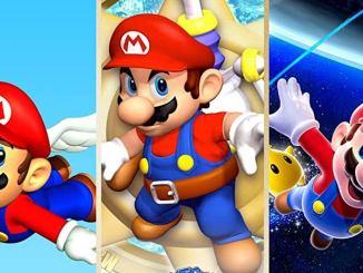 Das Bild zeigt das Titelbild des Spiels Super Mario 3D all Stars