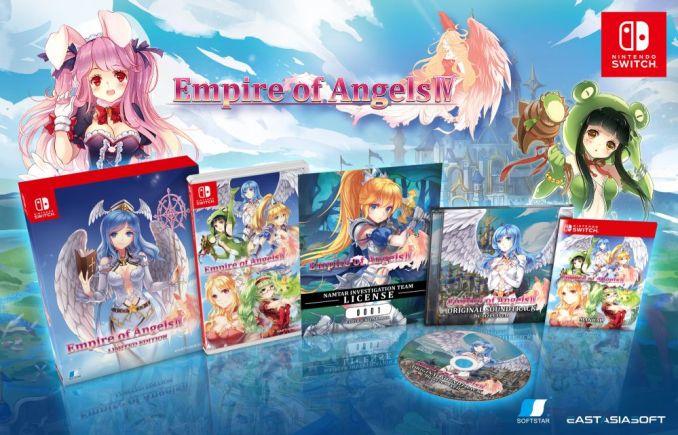 """Das Bild zeigt die Limited Edition von """"Empire of Angels IV""""."""