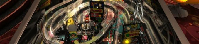 Das Bild zeigt einen Ausschnitt eines Flippertisches aus Pinball Arcade
