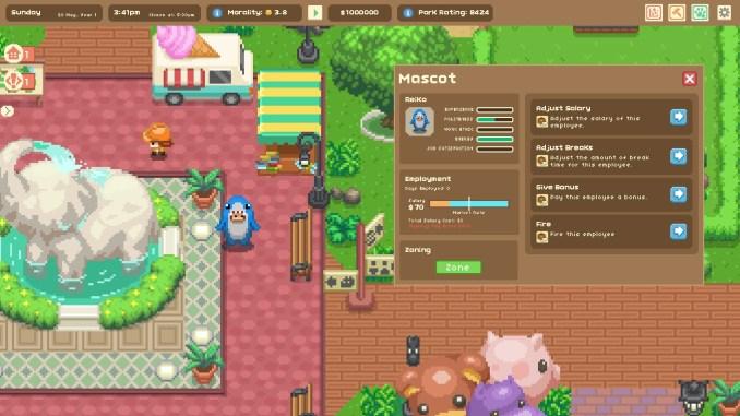 DasBiild zeigt euch das Gameplay aus dem Spiel Let's Build A Zoo
