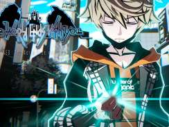 Das Bild zeigt den Hauptcharakter aus dem Spiel NEO The World Ends with You