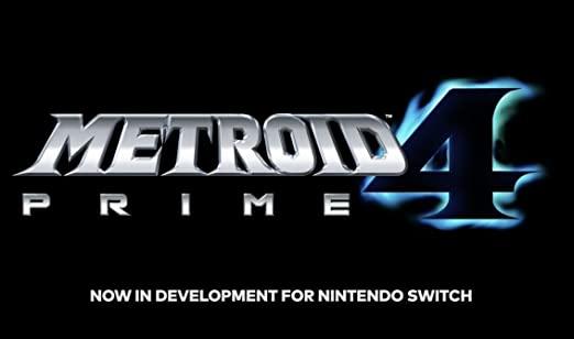 Das Vild zeigt ein Spiel von Nintendo. Das Spiel heißt Metroid Prime 4