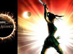 Das Bild zeigt das Titelbild vom Rollenspiel Baldur's Gate: Dark Alliance