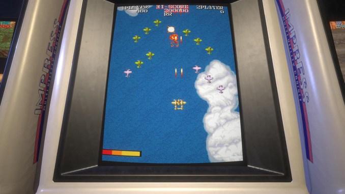 """Das Bild zeigt eine Szene aus dem Spiel """"Capcom Arcade Stadium""""."""