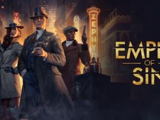 """Das Bild zeigt das Logo von """" Empire of Sin""""."""