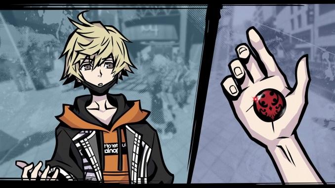 """Das Bild zeigt eine Szene aus dem Spiel """"NEO: The World Ends With You""""."""