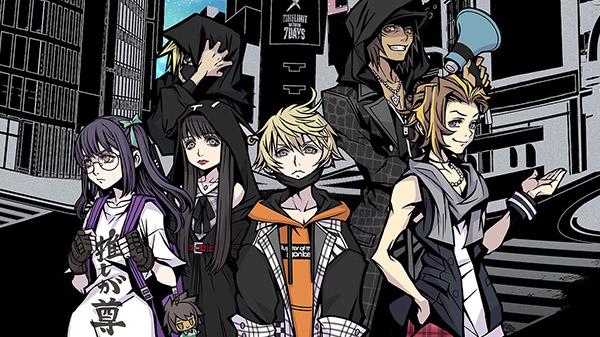 Das Bild zeigt die Spielbaren Charaktere aus dem Spiel NEO The World Ends with You