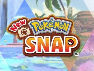 """Das Bild zeigt das Logo von """"New Pokémon Snap""""."""