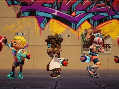 """Das Bild zeigt einige Chraktere aus dem Spiel """"Ninjala"""""""