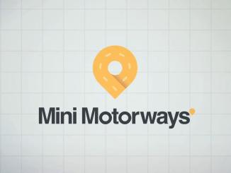 """Das Bild zeigt das Logo des Spieles """"Mini Motorways""""."""