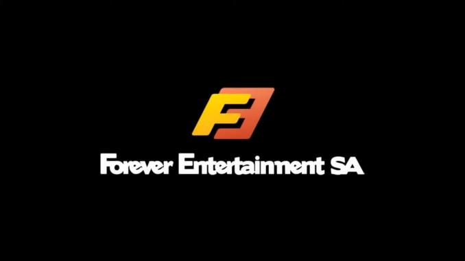 """Das Bild zeigt das Logo von """"Forever Entertainment""""."""