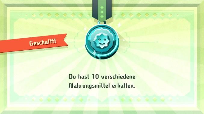 """Das Bild zeigt den Spielfortschritt in """"Miitopia""""."""