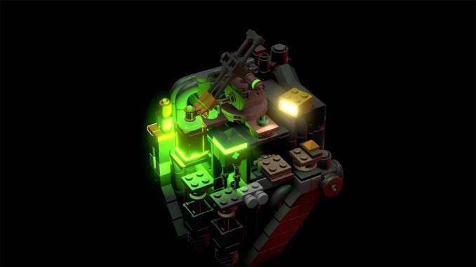 Das Bild zeigt eines der Level von LEGO Builder's Journey