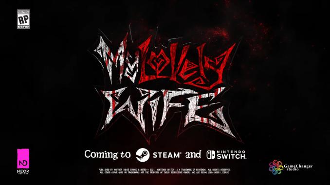 """Das Bild zeigt das Logo des Spieles """"My Lovely Wife""""."""