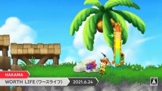 """Das Bild zeigt eine Szene aus der japanischen Nintendo Direct zu dem Spiel """"Worth Life""""."""