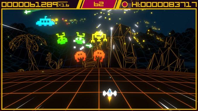 """Das Bild zeigt eine Szene aus dem Spiel """"Super Destronaut DX-2""""."""