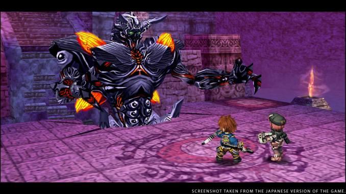 """Das Bild zeigt einen Bosskampf in """"The Legend of Heroes: Trails to Azure""""."""