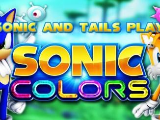 Das Bild zeigt das Titelbild des Spiels Sonic Colors Ultimate. ZU sehen sind Sonic (links) und Tails (rechts)