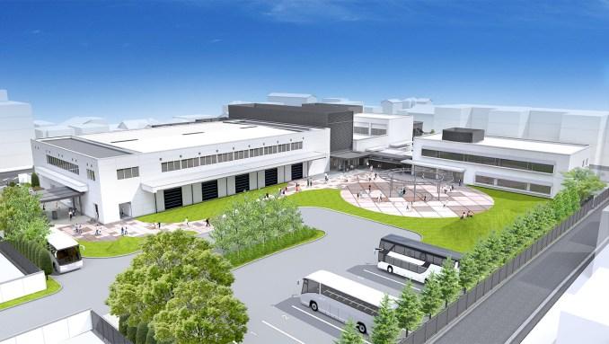 Das Bild zeigt das Gelände der Uji Ogura Plant, wie es nach dem Umbau aussehen könnte