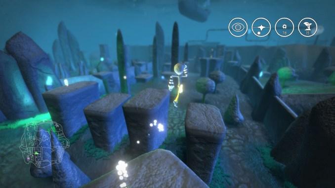 """Das Bild zeigt das Gameplay aus dem Spiel """"Onirike""""."""