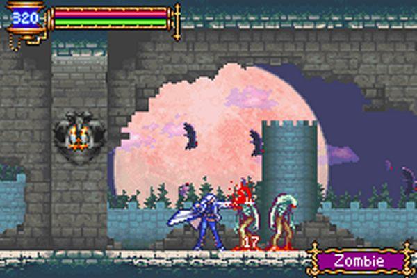 Das Bild zeigt einen Ingame-Sceen von Castlevania: Aria of Sorrow