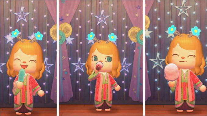 """Das Bild zeigt die neuen Tombola-Items aus dem Update 1.11 für """"Animal Crossing: New Horizons""""."""