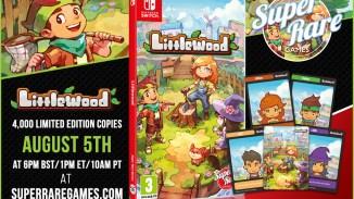 """Das Bild zeigt die physische Edition von """"Littlewood""""."""