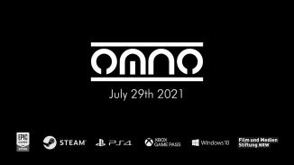 """Das Bild zeigt das Logo des Spieles """"Omno""""."""