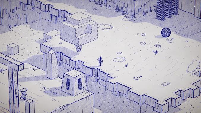 """Das Bild zeigt eine Szene aus dem Spiel """"Inked""""."""