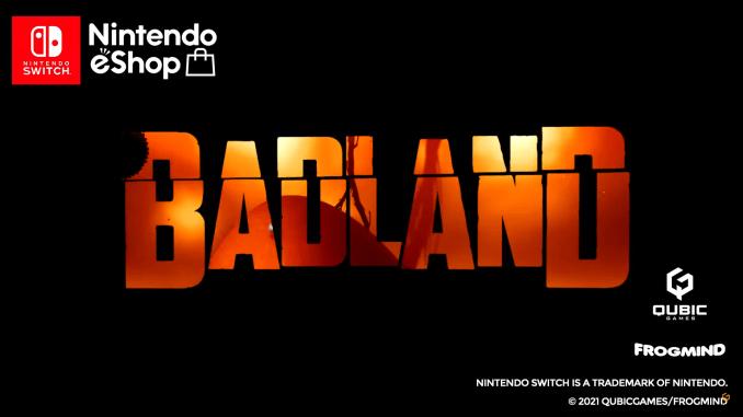 """Das Bild zeigt das Logo von """"Badland""""."""